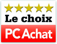 La r&eacute;daction du magazine PC Achat a s&eacute;lectionn&eacute; le portable Clevo X8100 comme l&rsquo;un des meilleurs dans sa cat&eacute;gorie, en lui attribuant la r&eacute;compense Le Choix PC Achat , dans le num&eacute;ro 169, dat&eacute; novembre 2010. Nous vous adressons le logo de la r&eacute;compense attribu&eacute;e &agrave; ce produit.