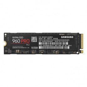 Disque dur ultra rapide 512Go SSD M.2 Samsung PRO PCI-Express (mémoire Flash)
